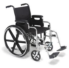 teaching patients and caregivers how to transfer from a manual wheelchair to and from a car