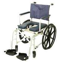 using transport shower commodes increases elderly safety in home health care elminating falls.