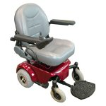 home health care physical therapy power wheelchair transfers for safety